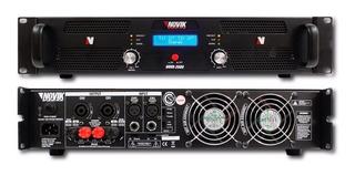 Amplificador De Potencia Novik Novo 2500 1250w + 1250w