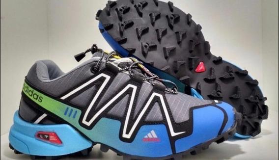 Tênis Masculino adidas Speedcross 3 C/ Trava Promocao 2019