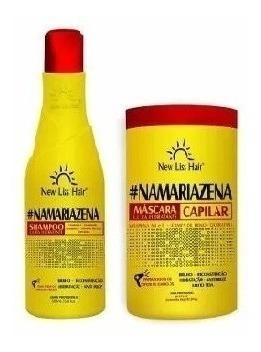 6 Kits Maizena Capilar Shampoo Masc 1kg (12produto)