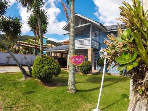 Imagem 1 de 30 de Casa Com 4 Dormitórios À Venda, 153 M² Por R$ 848.000,00 - Campeche - Florianópolis/sc - Sc - Ca0035_feelin