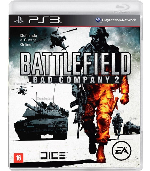 Battlefield Bad Company 2 Ps3 Midia Digital Psn Envio Rapido