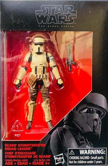 Star Wars Black Series 3.75 Scarf Stormtrooper Squad Leader