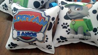 150 Almofadas Chaveiro Patrulha Canina Personalizada