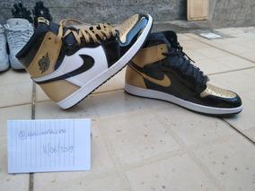 Jordan 1 Hi Gold Toe