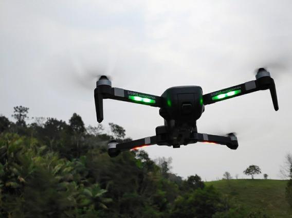 Drone Sg906 Com Câmera 4k Mais Uma Bateria Extra