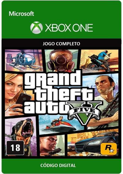 Gta 5 Grand Theft Auto V Xbox One Código 25 Dígitos
