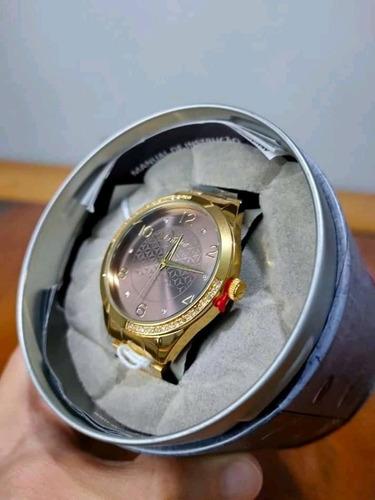 Relógio Condor Feminino Dourado Original