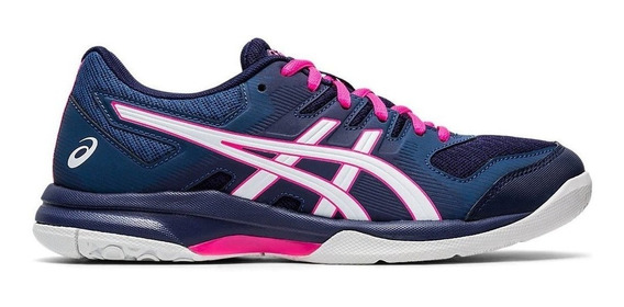 Zapatilla Asics Gel Rocket 9 Dama Voley Handball Padel