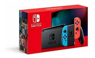 Nintendo Consola Switch Neon 32gb + Juego Físico Mario Car 8