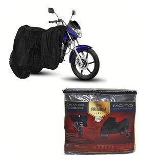 Capa Couro Para Cobrir Honda Cg 150 Titan Es Mix (p256)