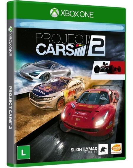 Jogo Project Cars 2 Xbox One Disco Fisico Novo Corrida Br