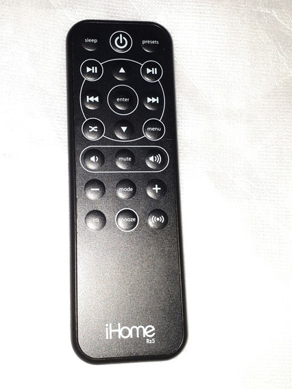 Controle Remoto Ihome Rz5 iPod Audio Produto Original