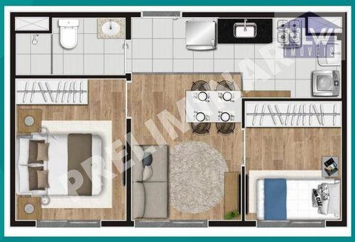 Imagem 1 de 7 de Apartamento Com 2 Dormitórios À Venda, 34 M² Por R$ 179.000,00 - Cambuci - São Paulo/sp - Ap3868