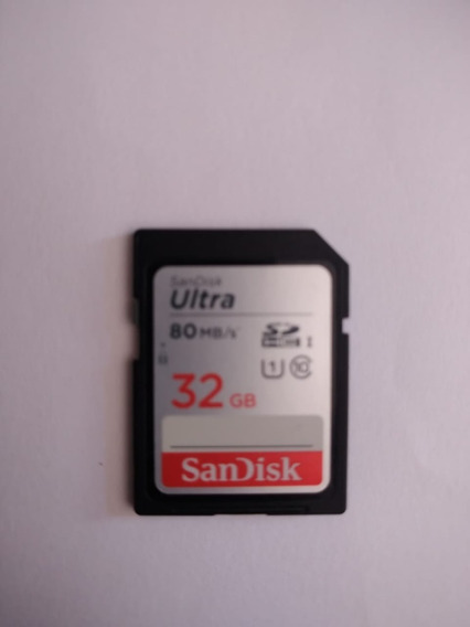 Cartão Sd 32gb Sandisk