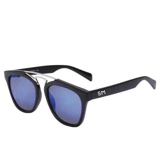 Óculos De Sol Masculino Sandro Moscoloni Danton Preto