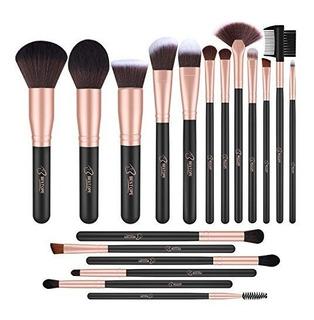 Bestope 18piezas De Pinceles De Maquillaje Set Premium