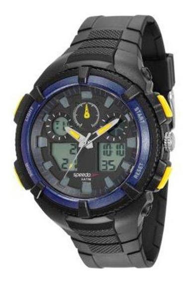 Relógio Speedo Masculino Preto 81159g0evnp4