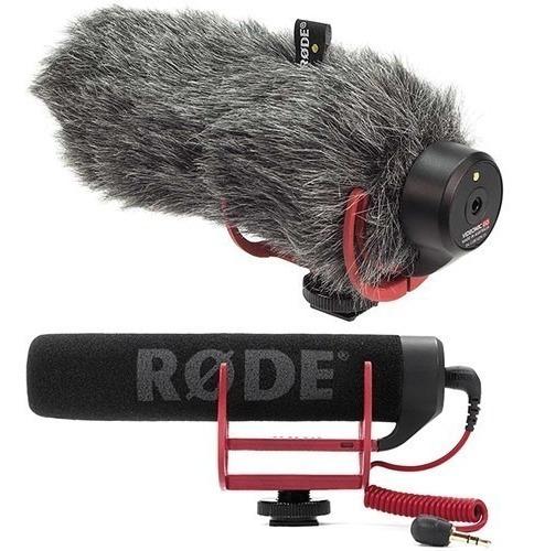 Microfone Direcional Rode Videomic Go Profissional + Deadcat