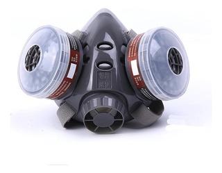 Mascara Anti-gas Anti-polvo Dos Filtro Carbón
