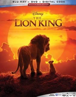 Blu-ray + Dvd The Lion King / El Rey Leon (2019)