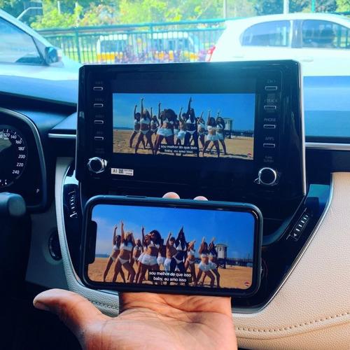 Imagem 1 de 3 de Desbloqueio De Tela+tv Full +espelhamento Toyota À Partir 19