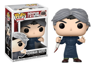 Funko Pop Movies Horror Psycho Norman Bates # 466