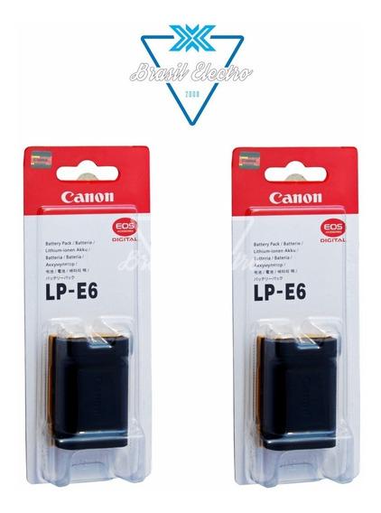 Kit 2 Baterias Canon Lp-e6 Lacrada Eos 5d Mark 3 60d 7d