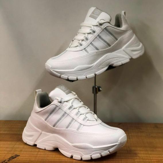 Tênis Via Marte Branco Chunky Sneaker Coleção Verão 20 - Att