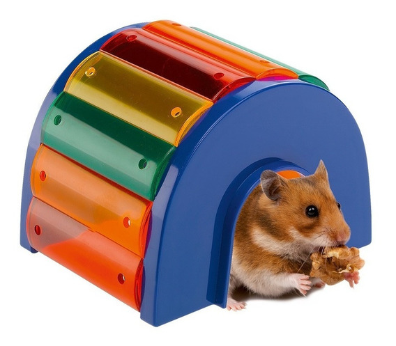 Casa Para Hamsters Colorida Ferplast