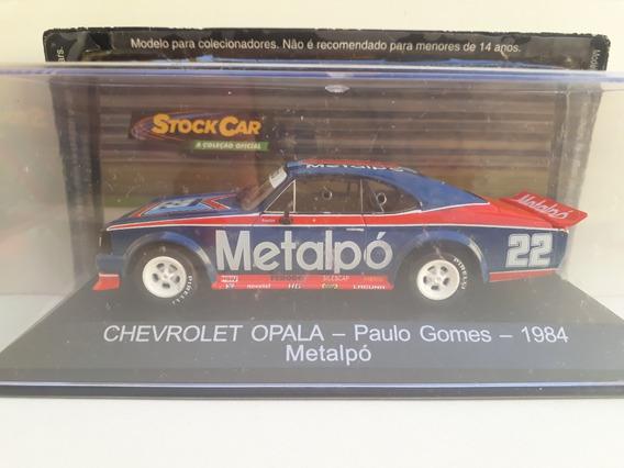 Miniatura Opala Stock Car 1/43 Paulo Gomes 1984 Metapó