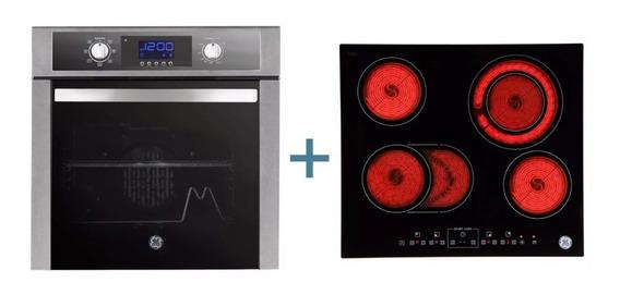 Combo Horno + Anafe Vitrocerámico Eléctricos Ge Appliances