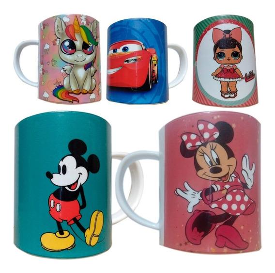 Taza Plastica Personalizada Ideal Niños. Regalos/souvenirs