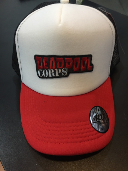 Gorra Marvel Deadpool Corps Trucker Lic Oficial Accoriginals