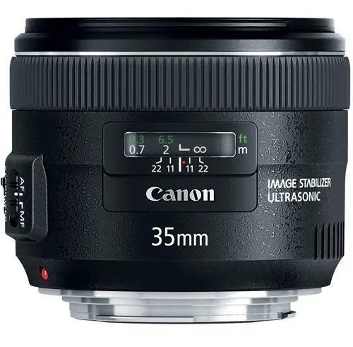 Lente Canon Ef 35mm F/2 Is Usm / Garantia Canon Brasil 1 Ano