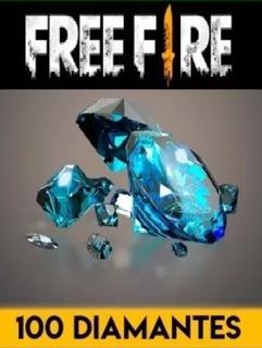 100 Diamantes Free Fire + Bonus De 10 Diamantes