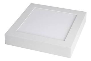 Panel Plafon Led 6w Exterior Cuadrado 220v Blanco Calido !!