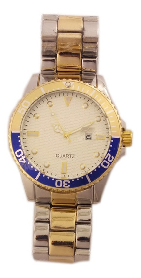 Relógio De Pulso Masculino Quartz Pulseira Metálica B5688