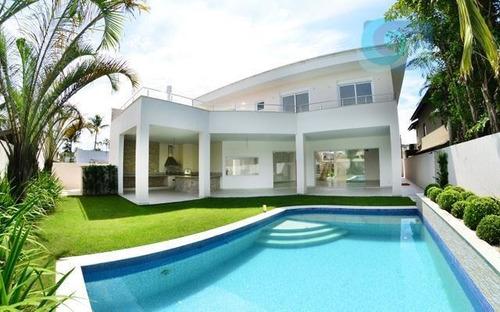 Imagem 1 de 26 de Casa À Venda - Condomínio Jardim Acapulco - Guarujá - Ca0413. - Ca0413