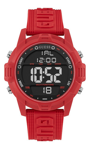 Reloj Para Hombre Guess Charge Color Rojo W1299g3