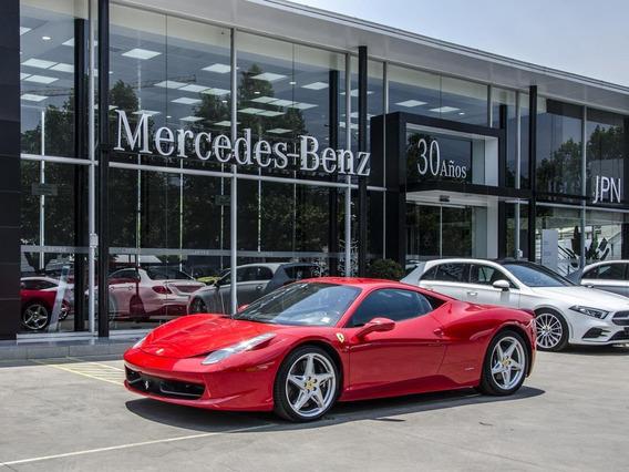 Ferrari 458 Italia V8 4.5 Turbo Con 570 Hp