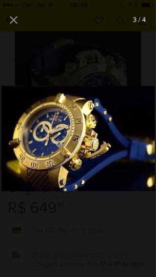 Relógio Invicta Black Blue