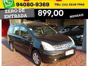 Nissan Grand Livina Sl Flex Aut. 7 L 2012 Zero De Entrada