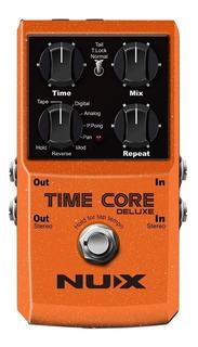 Pedal Efecto Nux D Time Core Delay Loop Musicapilar