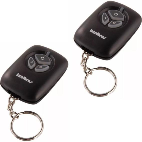 02 Controle Remoto Alarme E Portão Xac 2000 Intelbras Preto