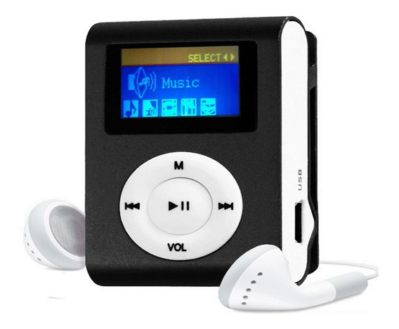 Mini Mp3 Player Tela Lcd + Fm Shuflle Clip Fitness !!