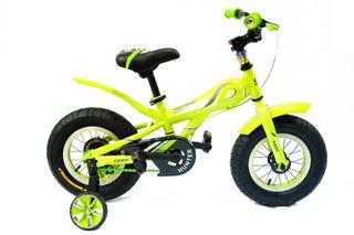 Bicicleta Para Niños Fat Ruedas Anchas Rod 12 Tipo Moto Sbk