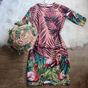 d924b5c43 Vestido Moda Evangelica - Vestidos Femininas Coral claro no Mercado ...