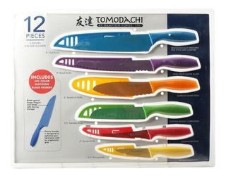 Remate Paquete De 5 Cuchillos Tomodachi By Hampton Forge