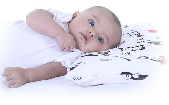 Almohada Para Bebé Memory Foam Comodísimos 25x50x5