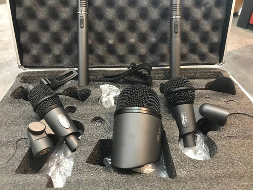Imagen 1 de 7 de Set De Microfonos Para Bateria Parquer Ar - 5a 5pc